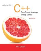 C++: FROM CONTROL STRUCTURES THROUGH OBJECTS